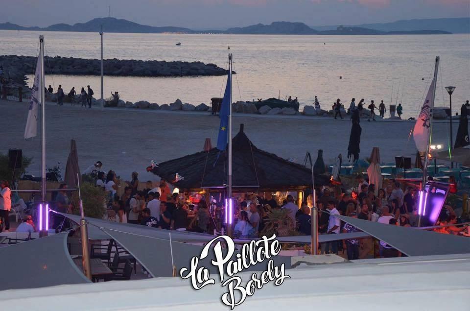 Paillote Borely - L'Equinoxe - Restaurant Escale Borely